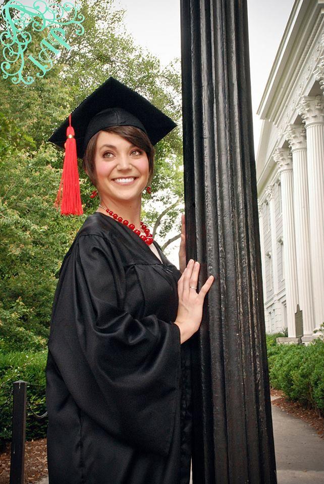 Graduation/ UGA/ Athens, GA/ Judith Anne Photography/ Senior Photos
