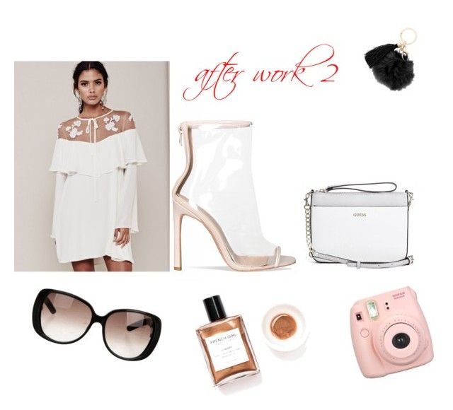 after work 2 by healthylife-cindy-sunday on Polyvore featuring polyvore moda style For Love & Lemons GUESS Fujifilm Gucci fashion clothing