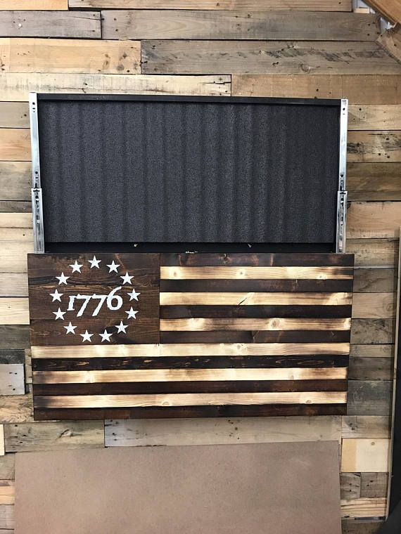 ce75fdb39f65 American Flag Pallet · Flag Art · Woodworking Projects · Wood Projects ·  1776 Concealment flagJust for the record