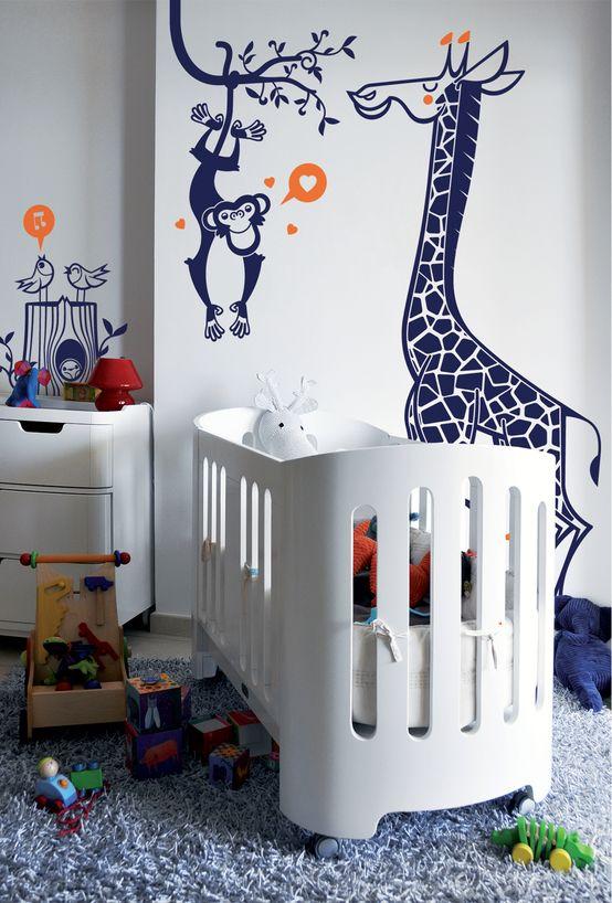 stickers enfants  kit savane par E-GLUE - Stickers Muraux et Papier