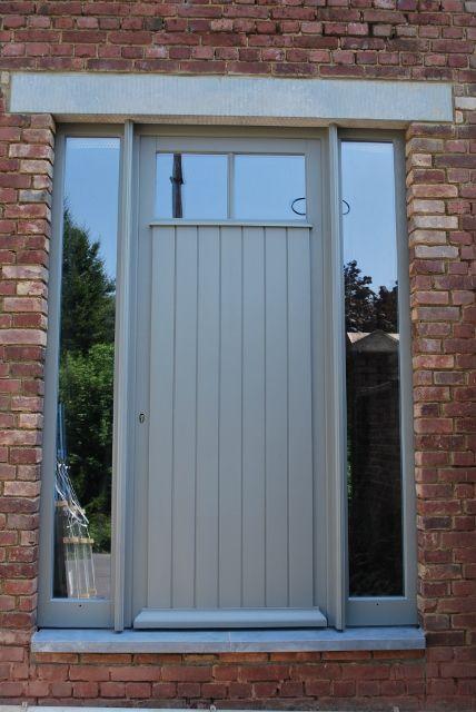 Menuisol galerie bois portes pinterest galerie - Recouvrir porte interieure ...
