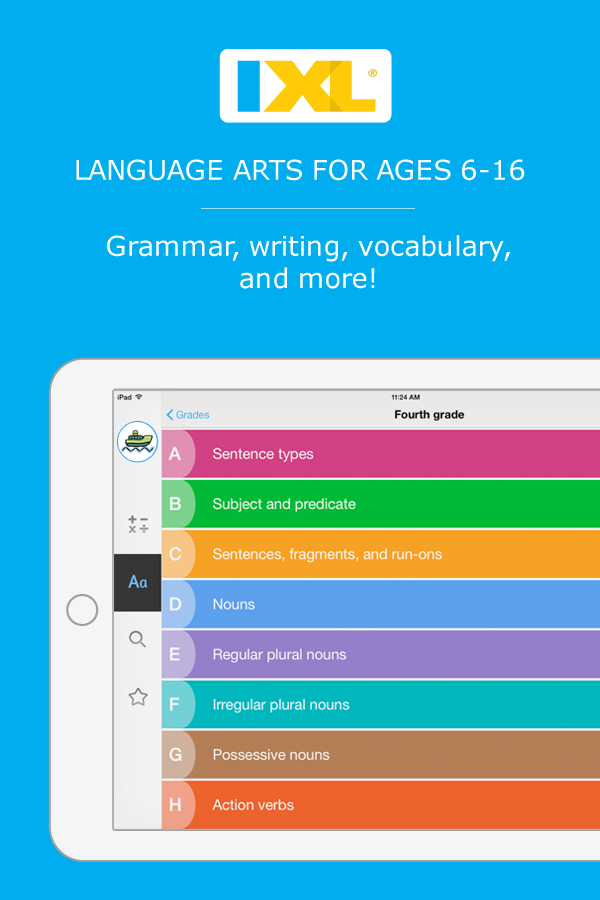 Interactive language arts practice for 2nd to 10th grade! | About ...