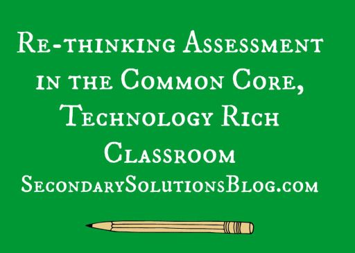 Re-thinking assessment SS