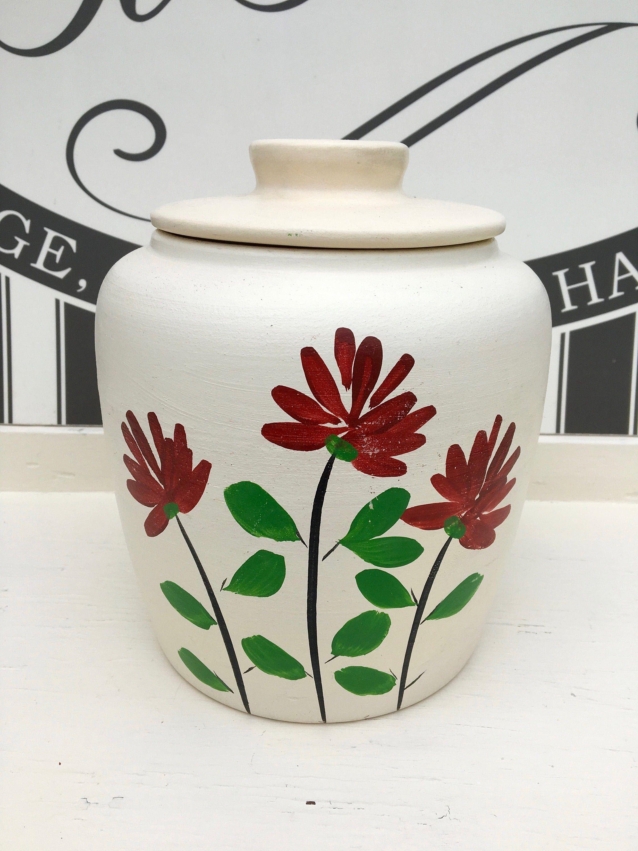 Vintage R R R Co Roseville Ohio 1500 Stoneware Cookie Etsy In 2020 Cookie Jars Vintage White Jar Vintage Pottery