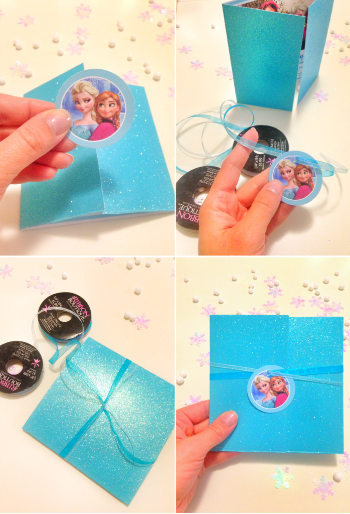 diy frozen party invitation tutorial free printable projects to