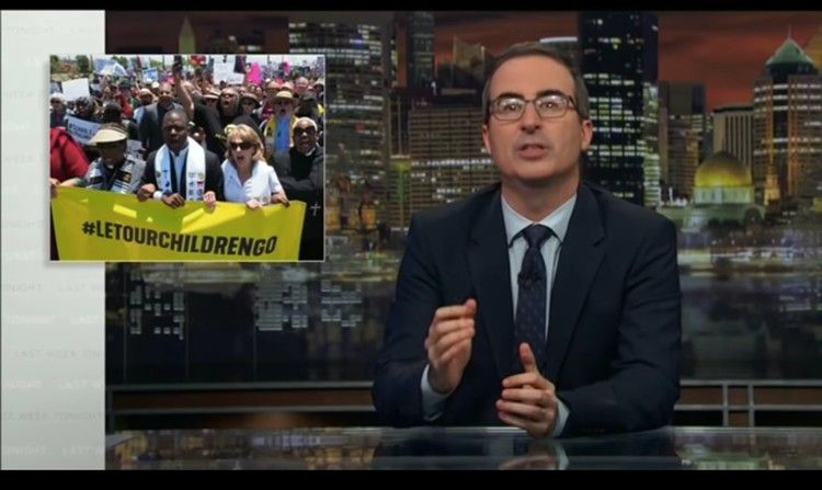 John Oliver Just Poked Some Glaring Holes In Trump's ...Trump Executive Order Tonight