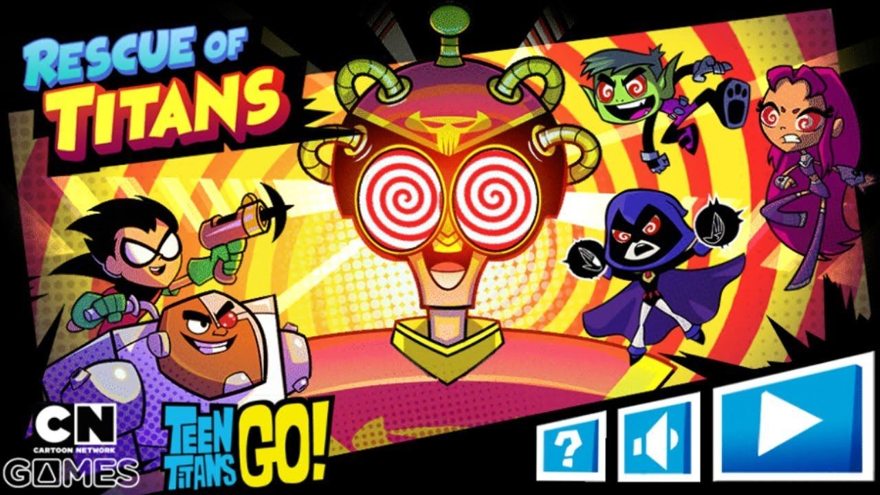 TEEN TITANS GO! GAME RESCUE OF TITANS (Cartoon Network Games