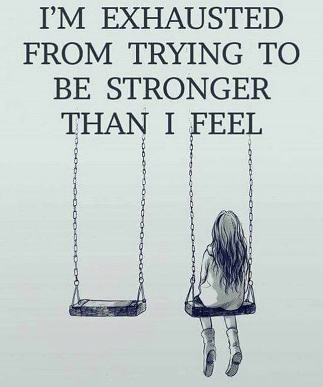 Some Days Are Just Harder Than Others Today I Feel Weak Sayings