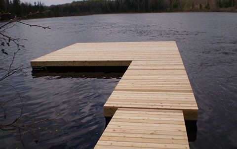Cottage Docks Ontario, Floating Docks, Boat Lifts and