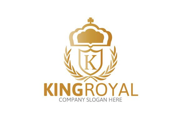 King Royal Logo by Josuf Media on Creative Market