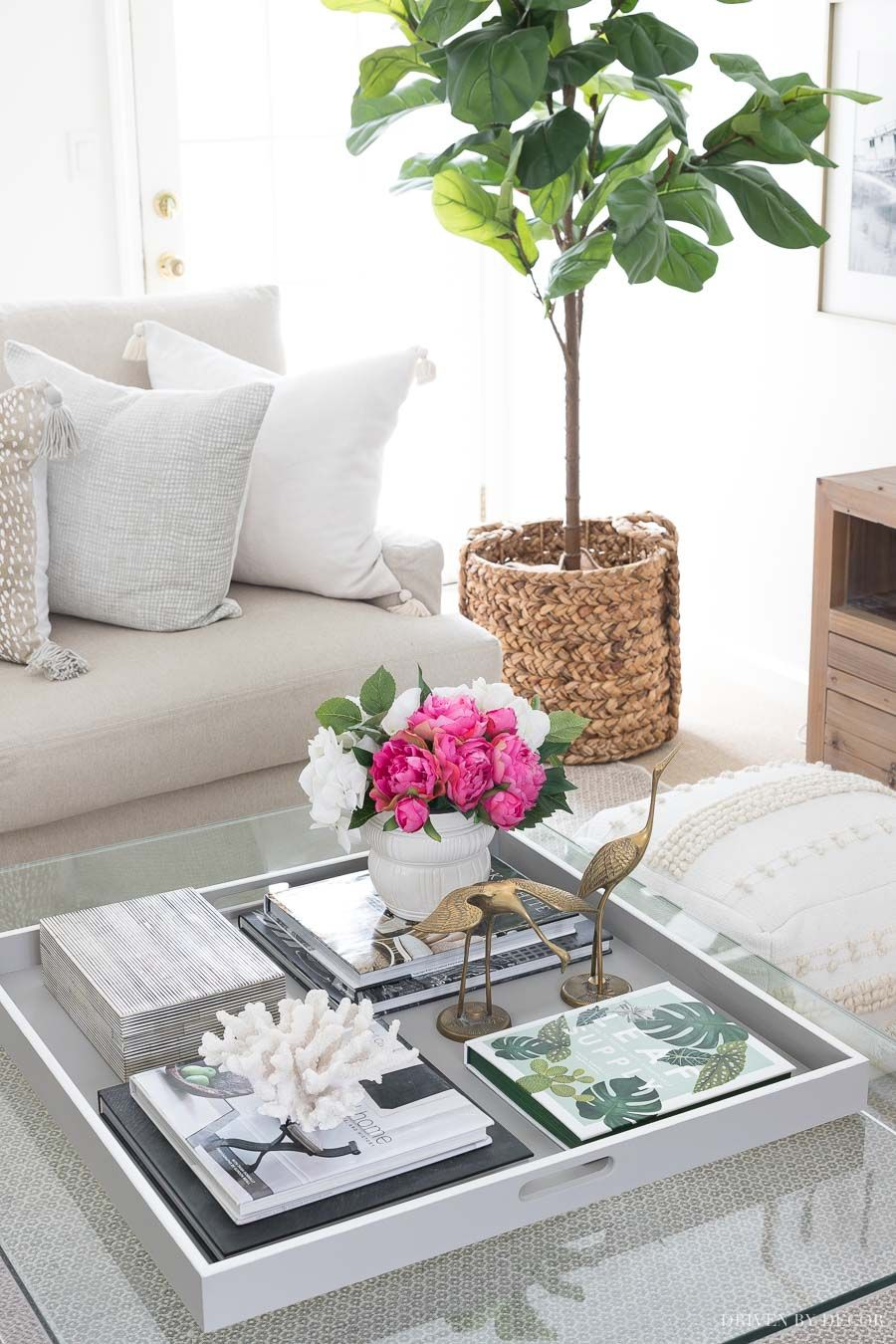 Coffee Table Decor Ideas Inspiration Driven By Decor Decor Diy Home Decor Bedroom D In 2020 Table Decor Living Room Coffee Table Decor Tray Modern Coffee Table Decor