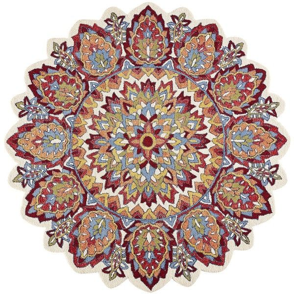 Pier 1 Imports Servern Round Wool Rug 6 400 Liked On