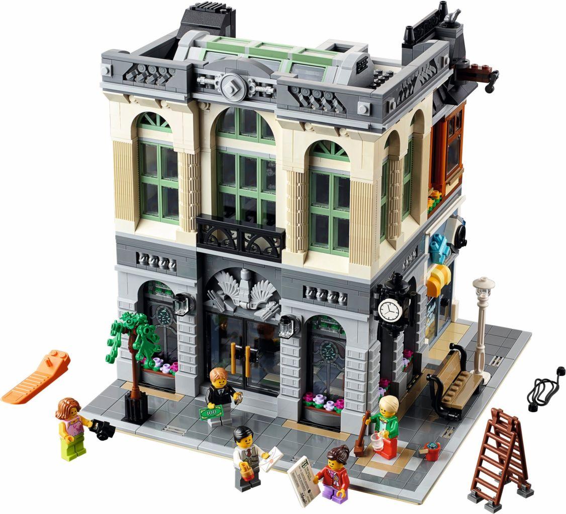 LEGO 10251 Brick Bank Lego ideeën, Lego projecten en