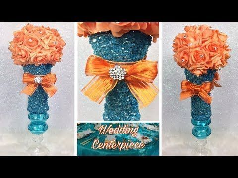 (23) So kreieren Sie ein glamouröses Hochzeits-Herzstück in Türkis und Orange ... ,  #Ein #gl... - #glamouroses #herzstuck #hochzeits #kreieren #orange #turkis