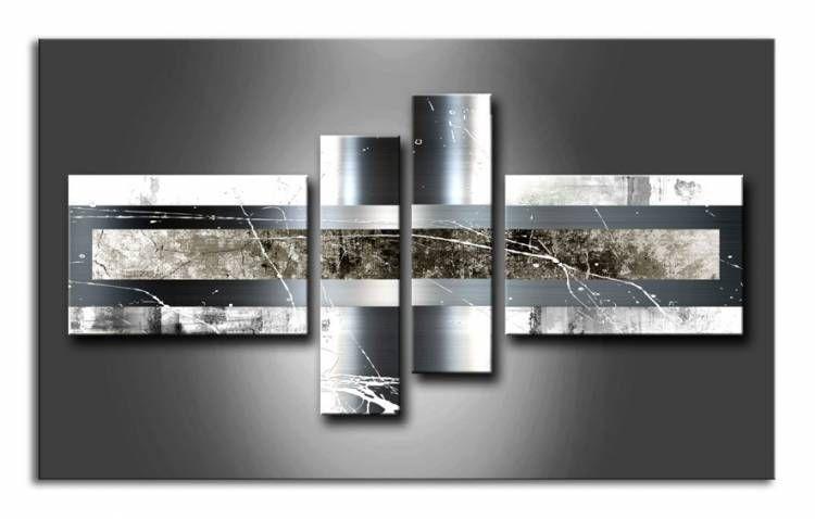 Ml_001 / Cuadro Abstracto gris
