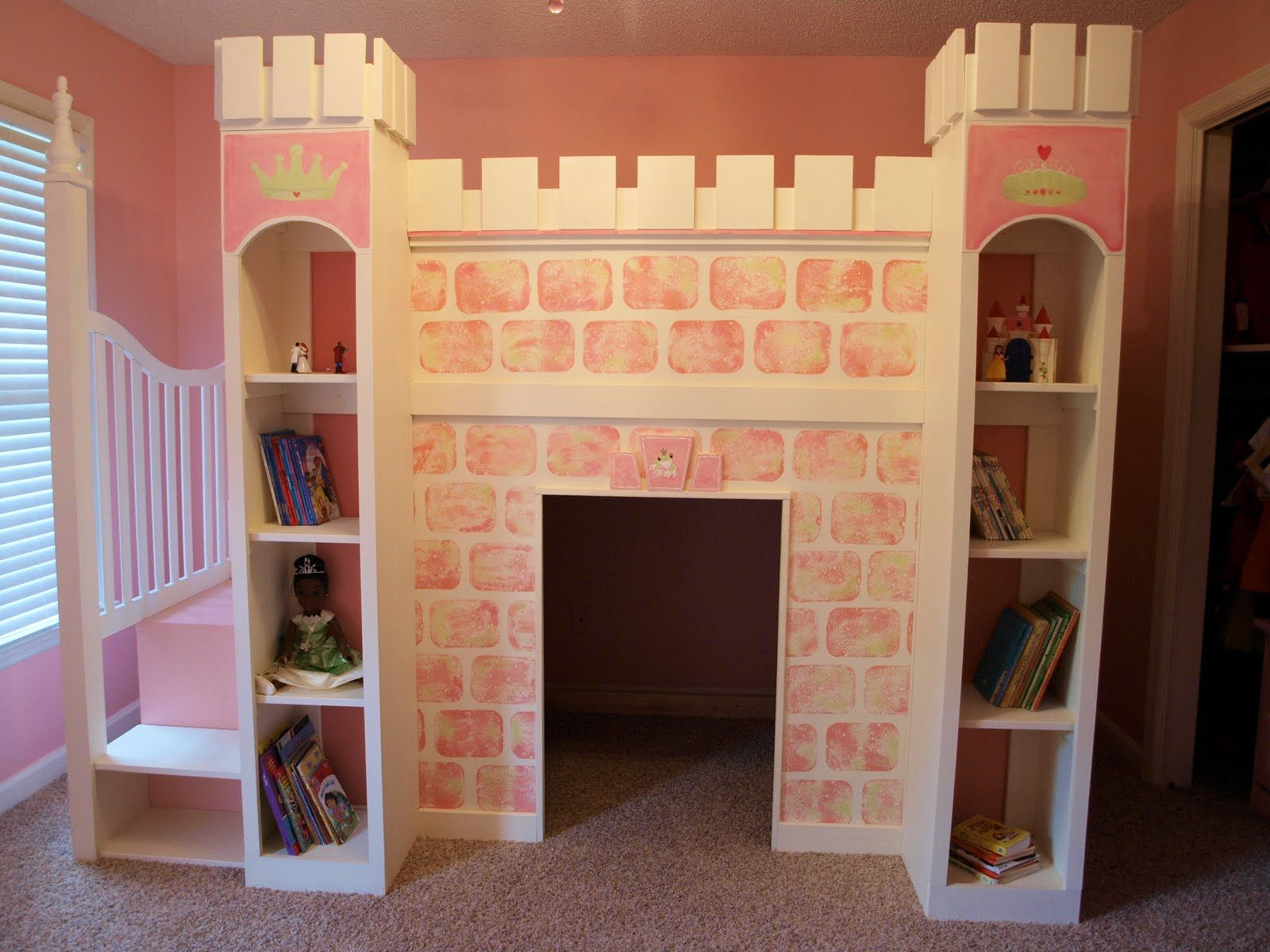 Build a dreamy lofted bed to make the most of a small room. Description from pinterest.com. I searched for this on bing.com/images