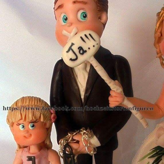 Hochzeitstortenfiguren selbst gestalten