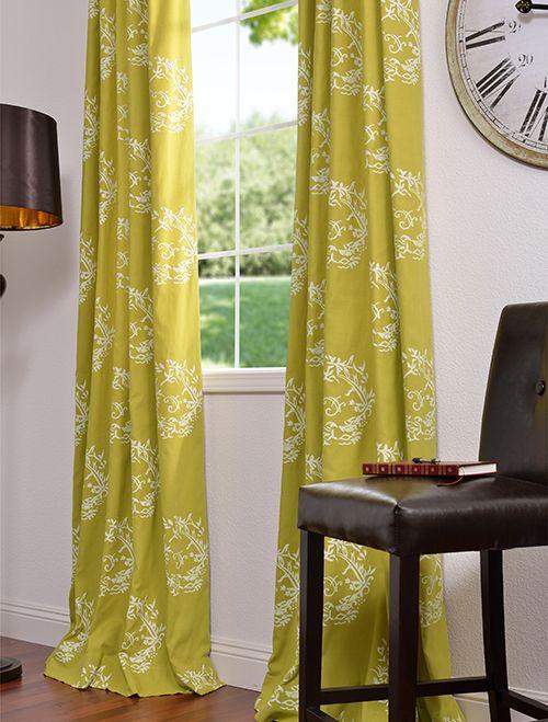 Isles Printed Cotton Curtains & Drapes