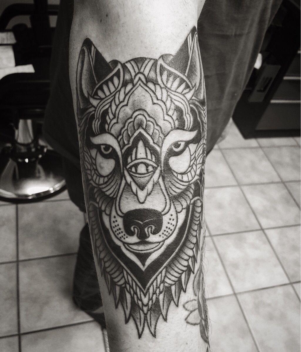 Tattoo motiv wolf tattoovorlage wolfskopf - Mandala Wolf Tattoo
