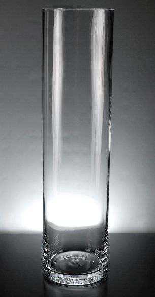 Clear Glass Cylinder Vases 20 Tall And 5 Wide 15 Each Or Buy 6
