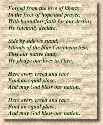 The National Anthem of Trinidad and Tobago. The National ...