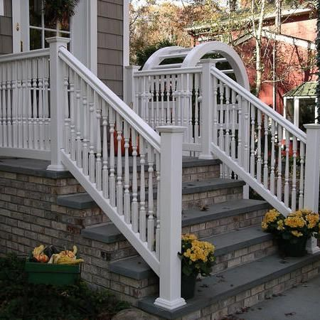 Best Front Porch Would Love To Add White Railing Down Our 640 x 480