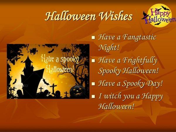 Beau New Happy Halloween Wishes