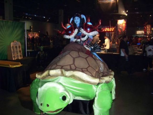 World Of Warcraft Wheelchair Costume. Completely Awesome