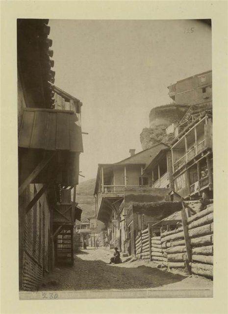 Фотографии Ботанического сада Тифлиса 187… какого-то года.