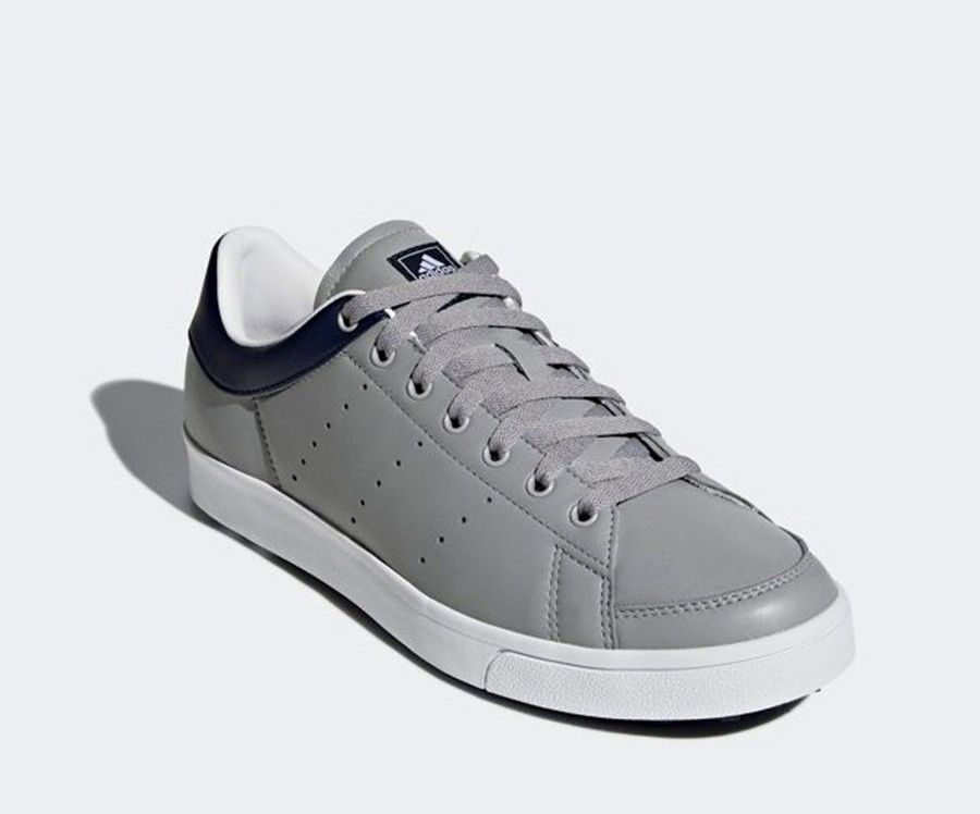Adidas Adicross Classic Men S Golf Shoes Gray Wide Fit Climastorm Nwt F33780 Adidas Adidas Golf Shoes Golf Shoes Mens Golf Shoes