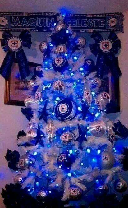 Pin De Ale Y Ivan Corrales En Cruz Azul Imagenes Del Cruz Azul Vamos Cruz Azul Cruz Azul Escudo Arbol de navidad azul wallpaper