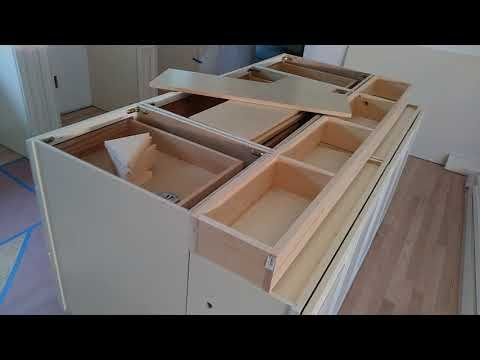 How Yo Build And Make A Double Sided Working Kitchen
