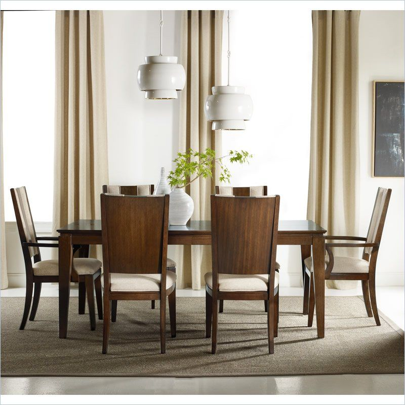 Hooker Furniture Felton Rectangle Dining Table With Leaves