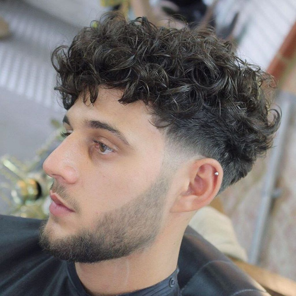 Hairstyles For Men With Big Foreheads Inspiration Stylish Fringe Haircuts For Curly Hair  Men Fashion  Hairstyle