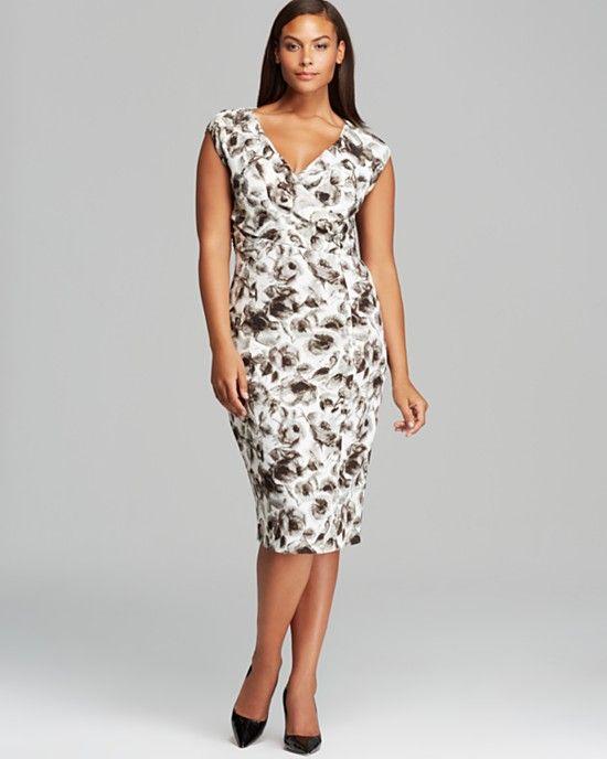 A Few of The Luxe Plus Size Fashion Designers | Moda taglie forti ...
