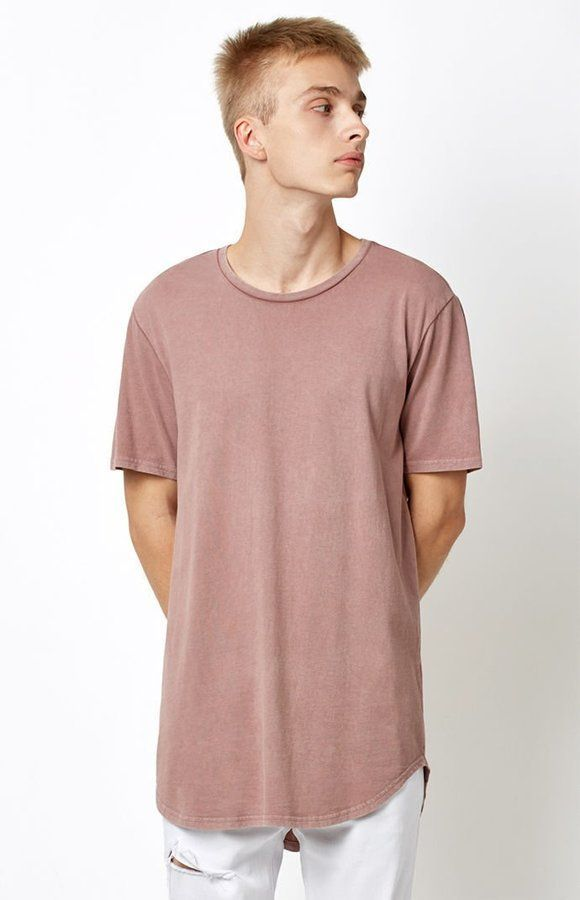 df09dbc23 PacSun All Day Centered Seam Scallop T-Shirt | Products | Shirts, T ...