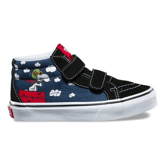 Kinder Vans X Peanuts Sk8-Mid Reissue V Schuhe | Vans