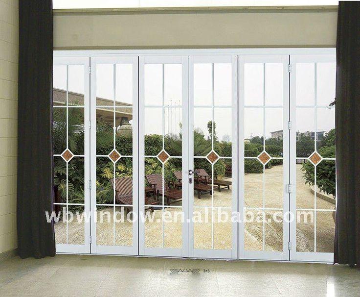 Resultado de imagen para puertas plegables de hierro con - Puertas correderas y plegables ...