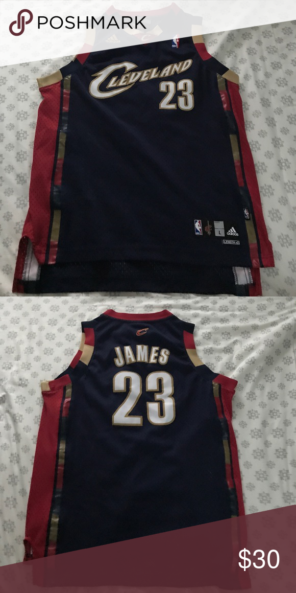 save off a1504 1e833 Cleveland Cavaliers LeBron James throwback jerseys navy blue ...