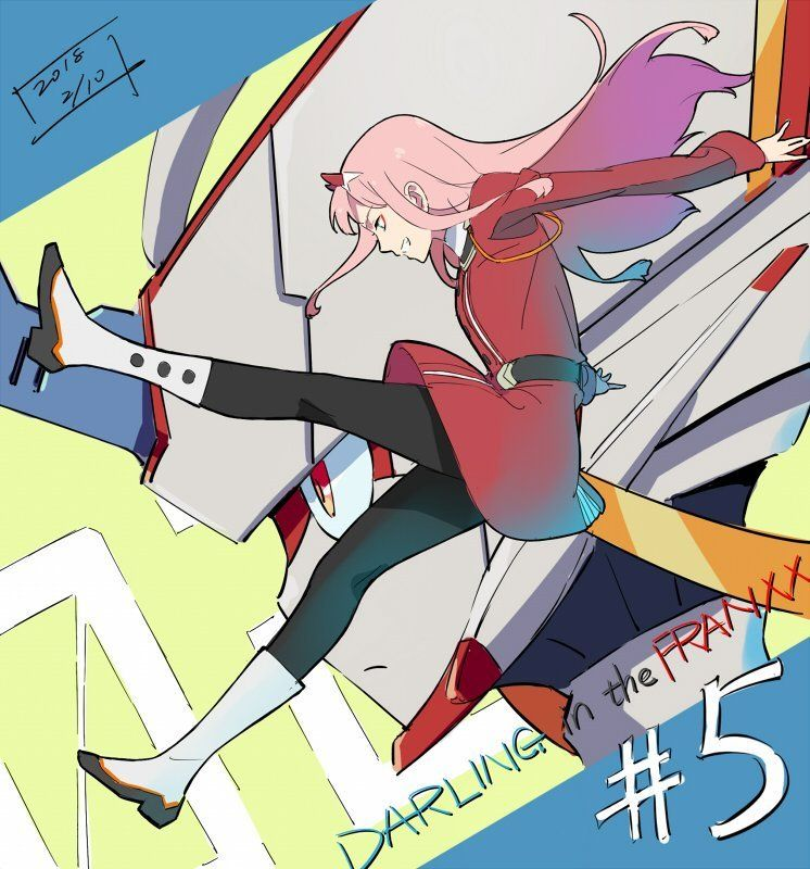 Werkbau01 Darling In The Franxx Anime Anime Romance