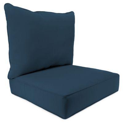 46 X 25 2 Piece Deep Seat Chair Cushion In Sunbrella Spectrum