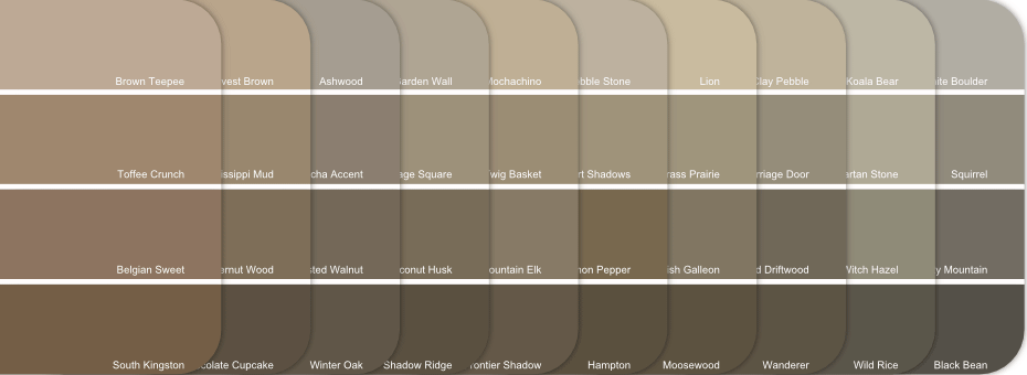 Paint Cheat Sheet Neutral Modern Color Palette 178 Mini Design