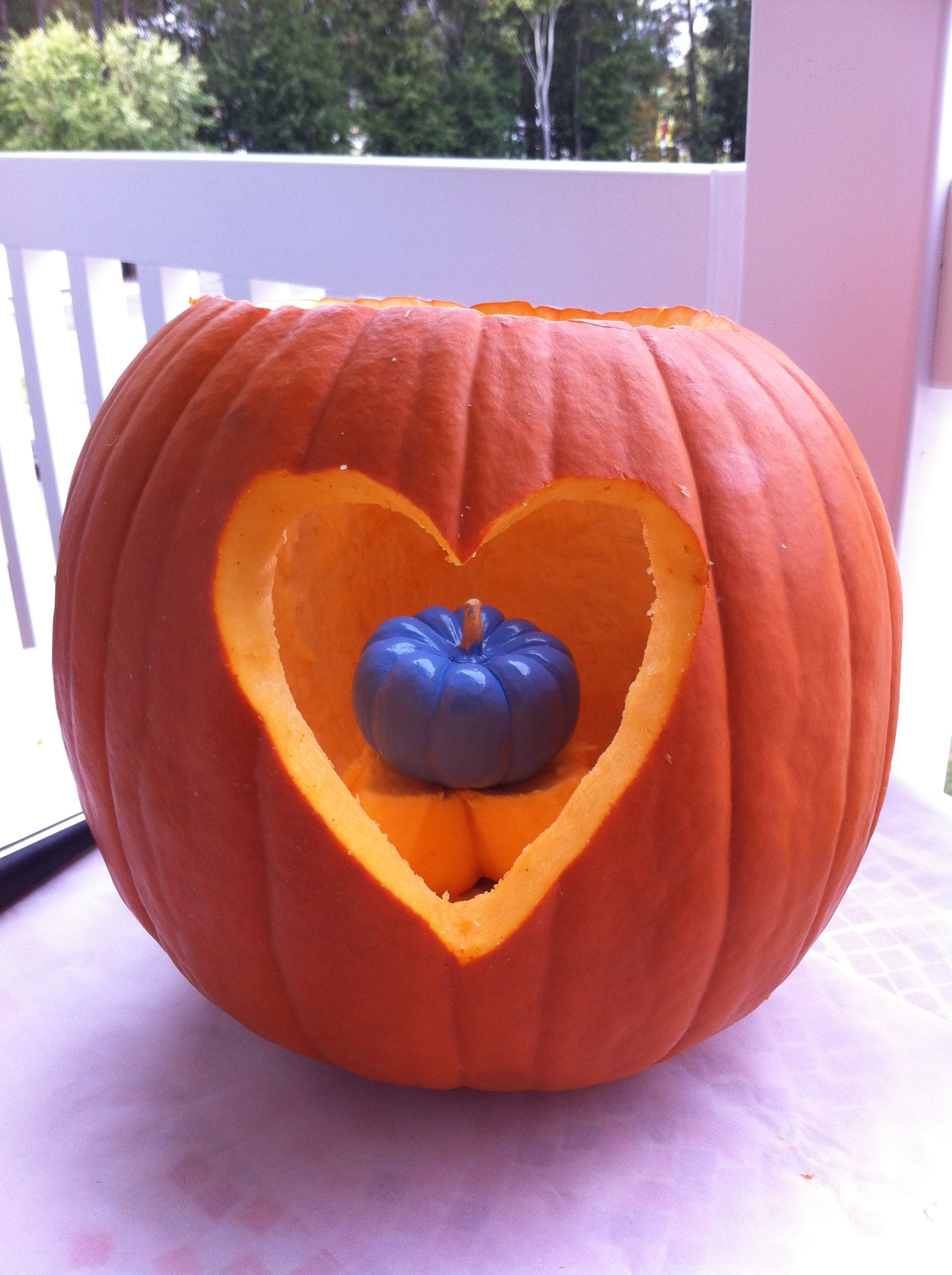 Gender Reveal Pumpkin Halloween Gender Reveal