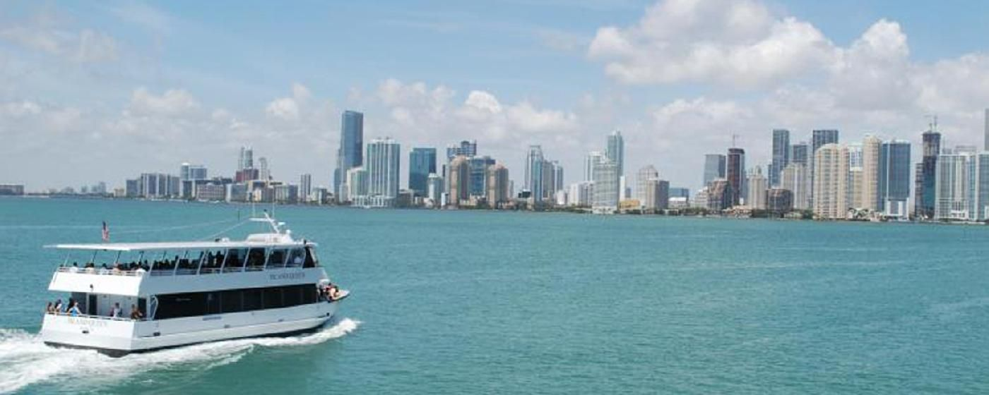This is a private tour boat for Miami, Key Biscayne and ... |Boat Trip Miami Key Biscayne