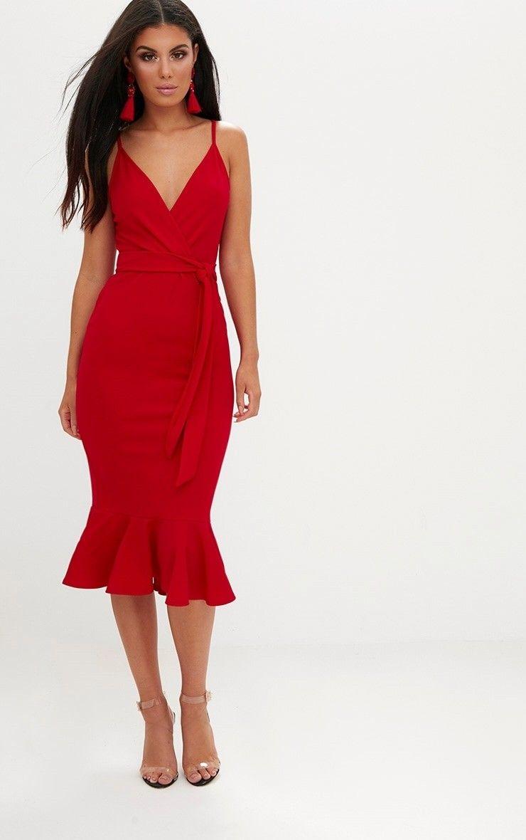 302590e71e60c5 PLT Red dress