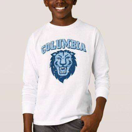 c7d84773b62 Columbia University | Lions - Vintage T-Shirt - classic gifts gift ideas  diy custom unique
