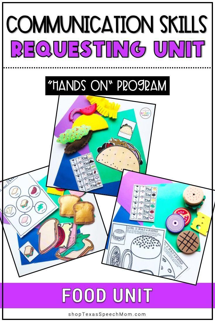 Communication skills handson program speech therapy