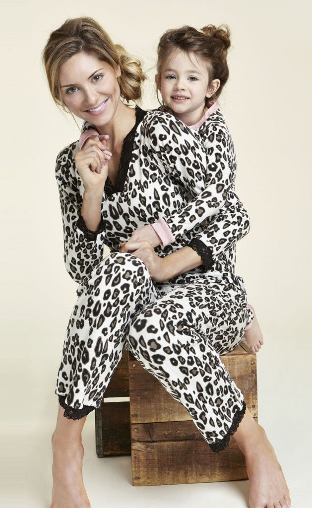 47a56ec715 Mother Daughter Matching Pajamas...just for fun!