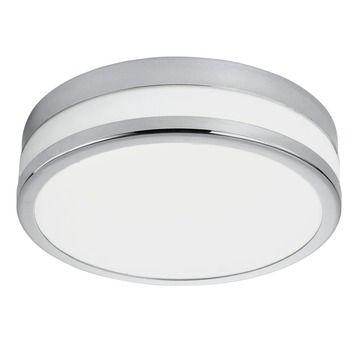 Eglo plafonnière Palermo LED chroom | Plafond- & wandlampen ...