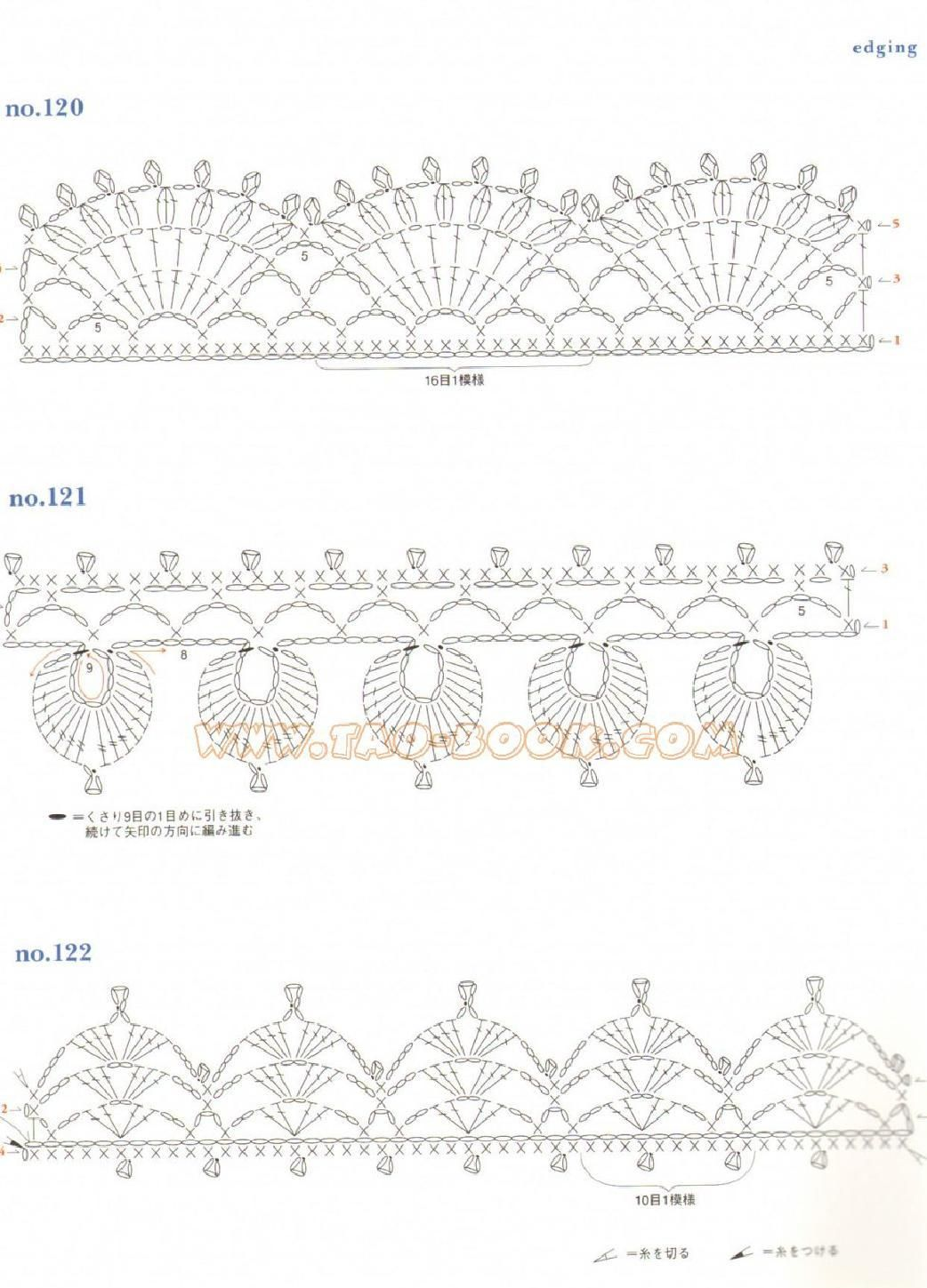 Ondori Motif And Edging Designs